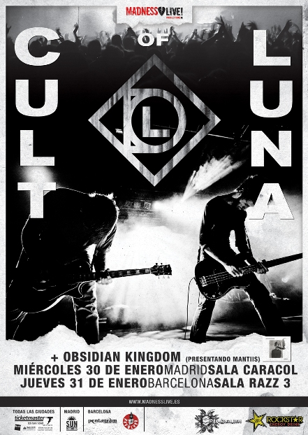 Obsidian Kingdom + Cult of Luna live Spain