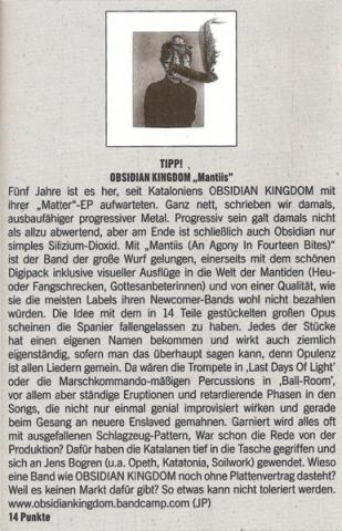 Obsidian Kingdom at Legacy #82 - Mantiis Review