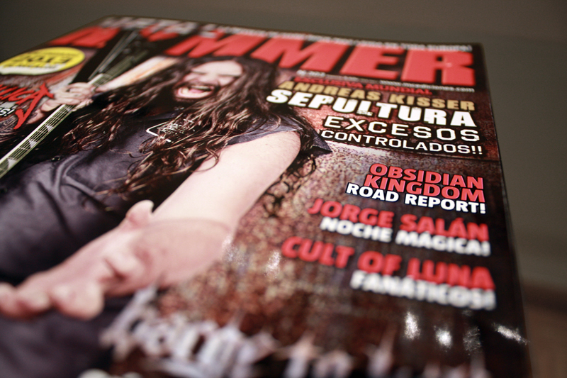 Obsidian Kingdom Cover at Metal Hammer #303