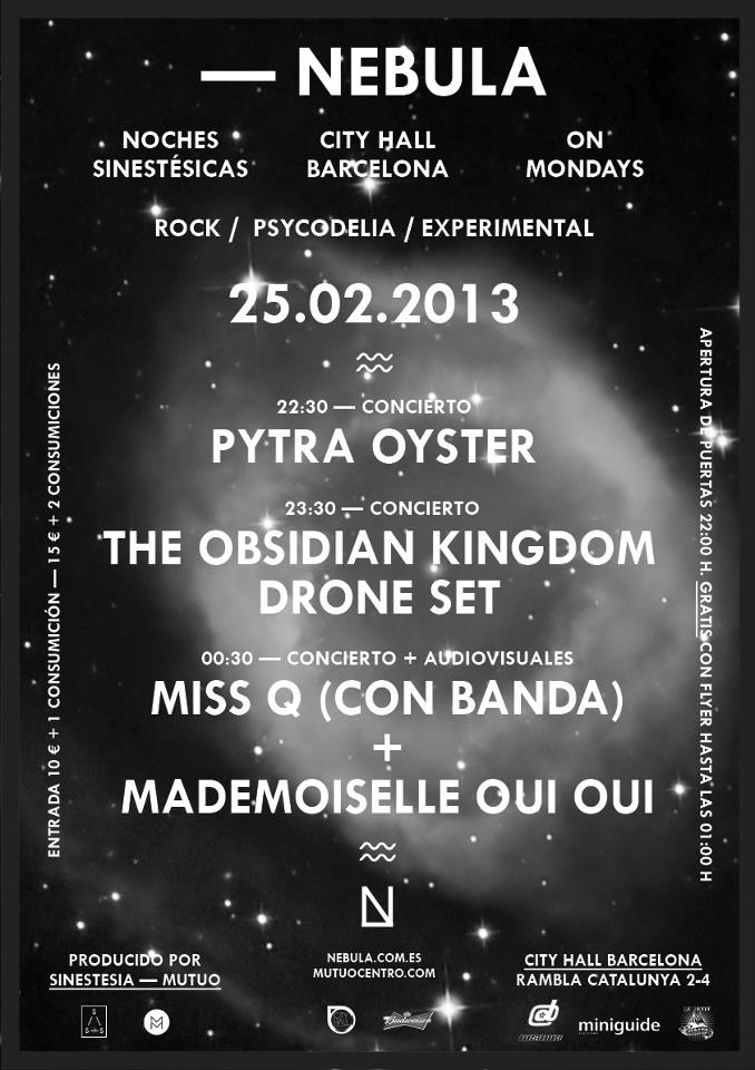 Obsidian Kingdom Drone Set - Noches Sinestesicas 2013