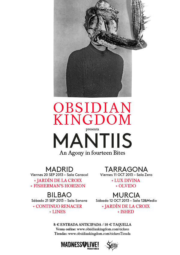 Obsidian Kingdom - Spanish Tour 2013