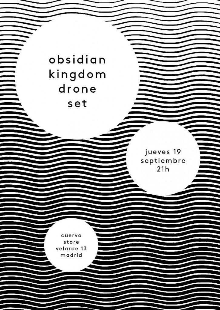 obsidian kingdom drone set - cuervo store