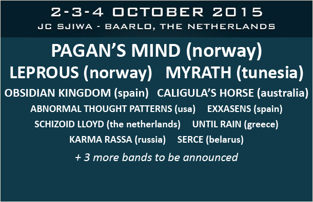 Obsidian Kingdom live - Prog Power Europe 2015