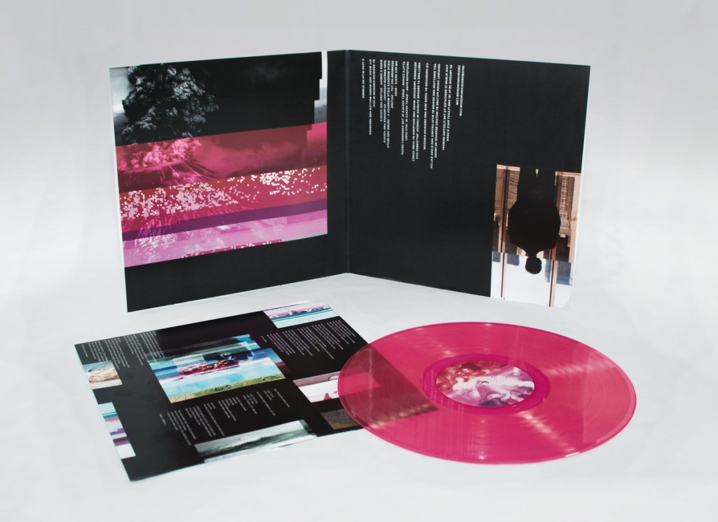 Obsidian Kingdom - A Year With No Summer translucent neon pink vinyl